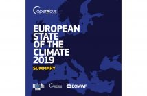 Cover of the European State of the Climate 2019 / Credits - 3S/DWD/EUTMETSAT CM SAF