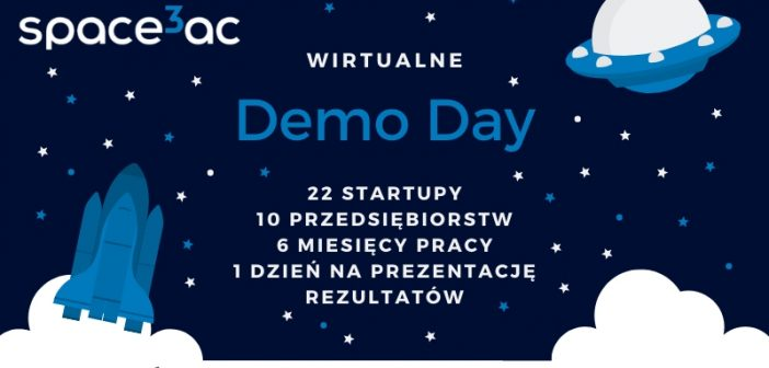 Wirtualne Demo Day programu Space3ac ScaleUp II