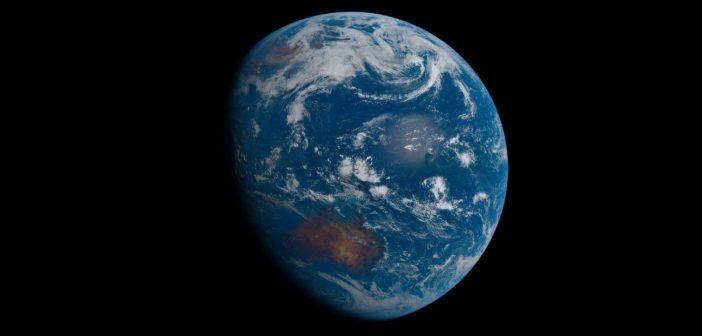 Spojrzenie na Ziemię z satelity Himawari 8 w dniu 15 maja 2020 / Credits - JAXA, Sean Doran