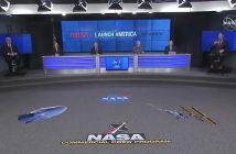 Ogłoszenie wyników FRR dla misji SpX-DM2 / Credits - NASA TV