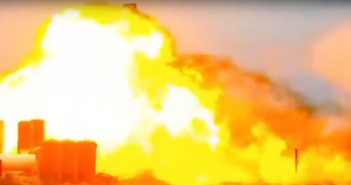 Eksplozja SN4 - 29.05.2020 / Credits - Lab Padre, mycroft16