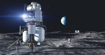 Lądownik ILV konsorcjum National Team – grafika / Credits – Blue Origin, National Team