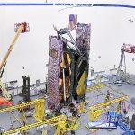 Pierwsze złożenie teleskopu JWST / Credits - NG