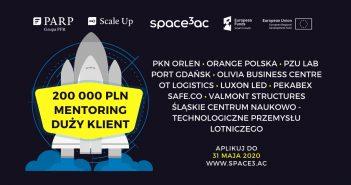 Kończy się nabór do akceleratora Space3ac ScaleUp 2