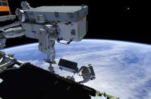 Jeden z etapów spaceru EVA-65 / Credits - NASA TV