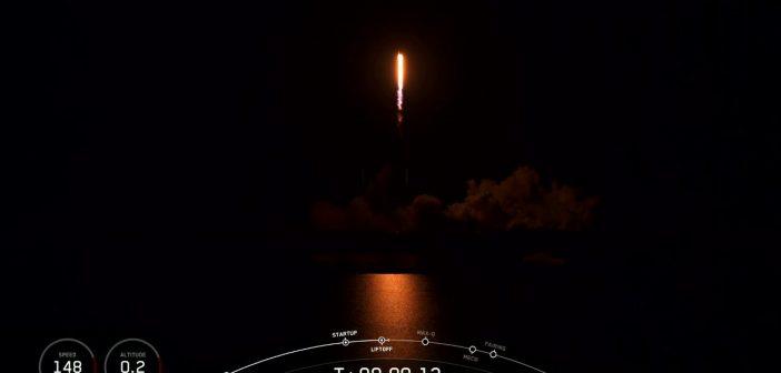 Start dziewiątej paczki satelitów Starlink - 13.06.2020 / Credits- SpaceX