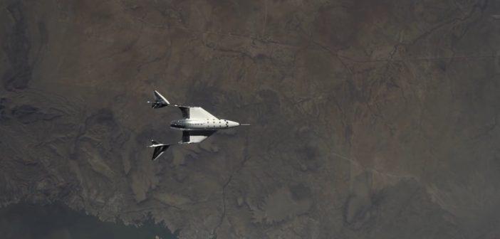 Drugi lot ślizgowy VSS Unity ze SpacePort America - 25 czerwca 2020 / Credits - Virgin Galactic