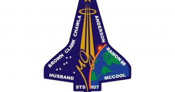 Logo misji STS-107 / Credits - NASA