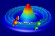 Ultrazimne atomy uwięzione w pułapkach optycznych układają się w zaskakująco złożone struktury. W zależności od wzajemnego oddziaływania cząstek o przeciwnych spinach realizowane są lokalnie fazy o różnych właściwościach. (Źródło: IFJ PAN)