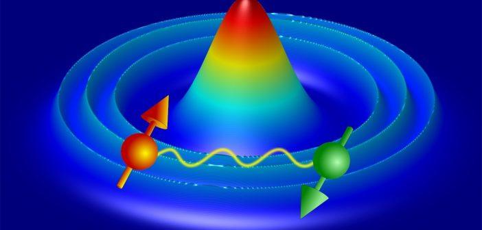 Kwantowe pierścienie w ryzach laserowego światła