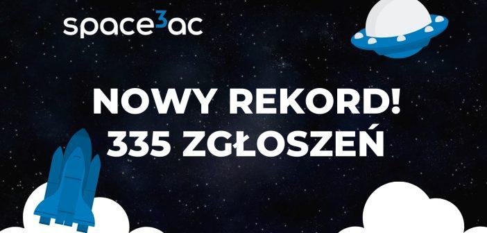 Koniec naboru do Space3ac – padł nowy rekord