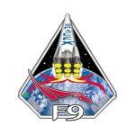 Logo pierwszego lotu rakiety Falcon 9 / Credits - SpaceX