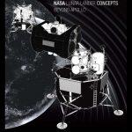 Koncepcje lądowników księżycowych po programie Apollo / Credits - NASA