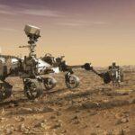 Łazik Perseverance na Marsie / Credits - NASA