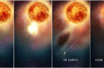 Wyjaśnienie spadku jasności Betelgezy z początku 2020 roku / Credits - NASA, ESA, and E. Wheatley (STScI)