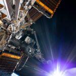 Spojrzenie na część ISS, zdjęcie wykonane 21 lipca 2020 (spacer EVA-68) / Credits - NASA