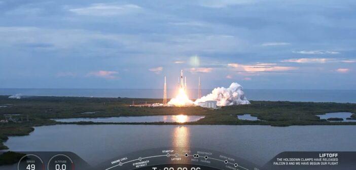 Start rakiety Falcon 9 - 31 sierpnia 2020 / Credits - SpaceX