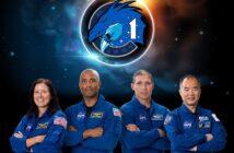 Załoga misji USCV-1 / Credits - NASA