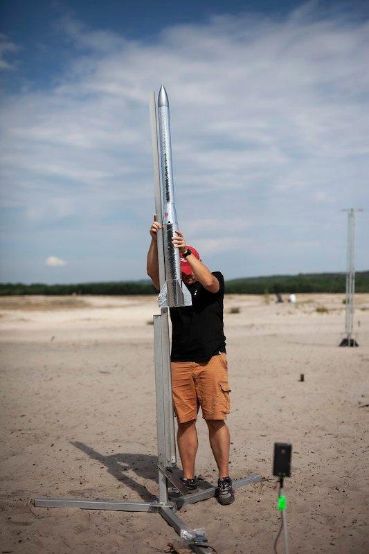 Przygotowanie do startu w trakcie Festiwal Meteor 2020 / Credits - PTR