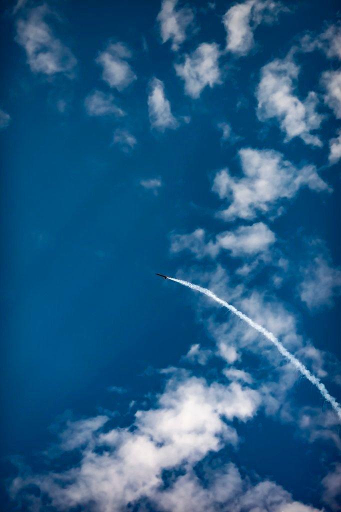 Start jednej z rakiet na Festiwalu Meteor 2020 / Credits - PTR