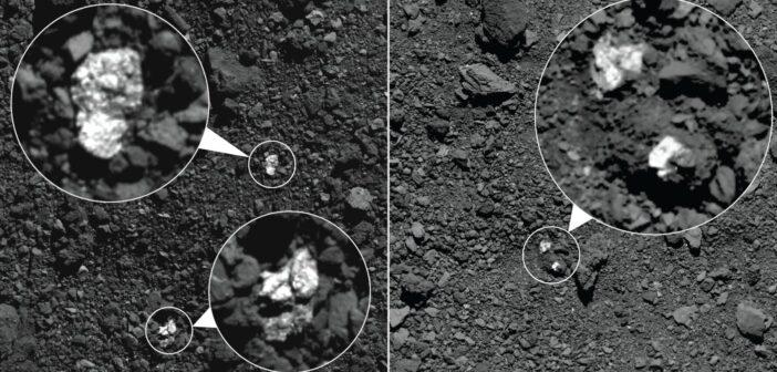 Głazy, prawdopodobnie pochodzące z Westy na powierzchni Bennu / Credits - NASA/Goddard/University of Arizona