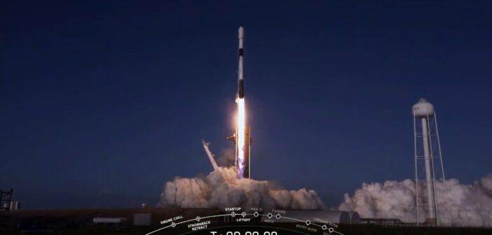 Start rakiety Falcon 9 - 18.10.2020 / Credits - SpaceX