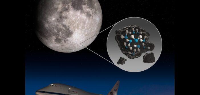 SOFIA i odkrycie wody na Księżycu / Credits - NASA