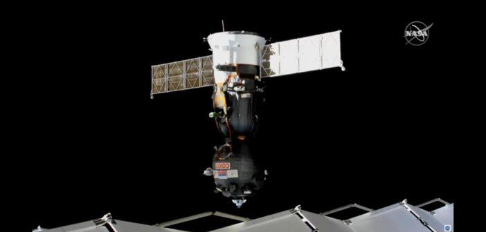Sojuz MS-16 opuszcza ISS / Credits - NASA TV