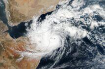 Cyklon Gati - zdjęcie z 22 listopada 2020 / Credits - NASA, NASA EOSDIS/LANCE + GIBS/Worldview, Suomi National Polar-orbiting Partnership