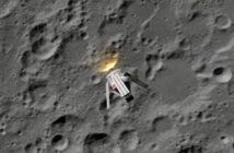 MPCV w pobliżu Księżyca / Credits - ESA