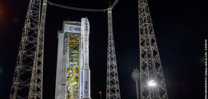 Vega przed nieudanym startem z 17 listopada 2020 / Credits - ESA, CNES, Arianespace, S Martin