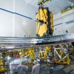 Ostatni test osłony JWST / Credits - NASA, Chris Gunn