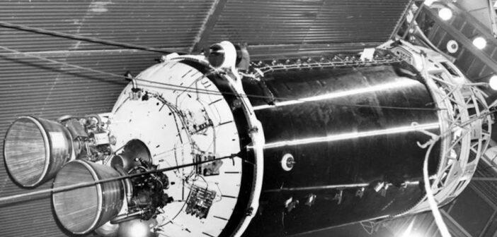 Stopień Centaur z lat 60. XX wieku / Credits - NASA