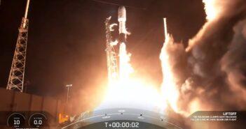 Start Falcona 9 z Turksat 5A - 08.01.2021 / Credits - SpaceX