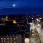 Bolid z 29 stycznia 2021 nad Szczecinem / Credits - liveszczecin.pl