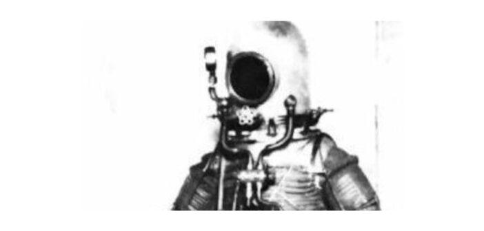 Hiszpański skafander ciśnieniowy z lat 30-tych projektu Herrery