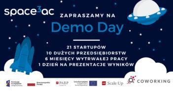 Wirtualne Demo Day programu akceleracyjnego Space3ac