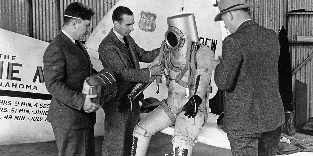 skafander ciśnieniowy Wiley'ego Posta z 1934 roku