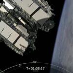 Uwolnienie dziewiętnastej paczki satelitów Starlink - 16.02.2021 / Credits - SpaceX