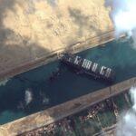 Zdjęcie satelitarne z satelity World View-2 firmy Maxar z 26 marca 2021 / Credits - Maxar