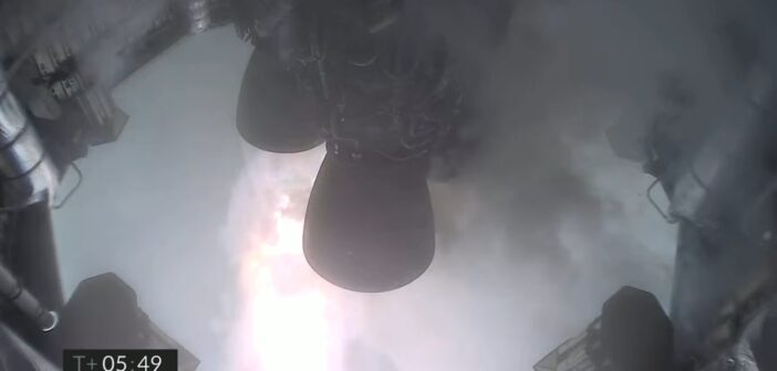 Ostatnie ujęcie z pokładu SN11 / Credits - SpaceX