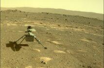 Ingenuity na powierzchni Marsa - zdjęcie z 4 kwietnia 2021 (Sol 43) / Credits - NASA/JPL-Caltech