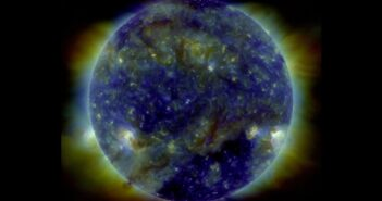 Widok Słońca w dniu 18 kwietnia 2021 / Credits - NASA, SDO