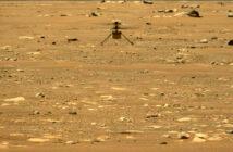 Ingenuity podczas drugiego lotu w marsjańskiej atmosferze - 22.04.2021 / Credits - NASA/JPL-Caltech