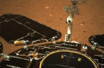 Pierwsze kolorowe spojrzenie na łazika Zhurong na powierzchni Marsa / Credits - CNSA