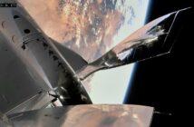 """Ujęcie z trzeciego """"kosmicznego"""" lotu VSS Unity / Credits - Virgin Galactic"""