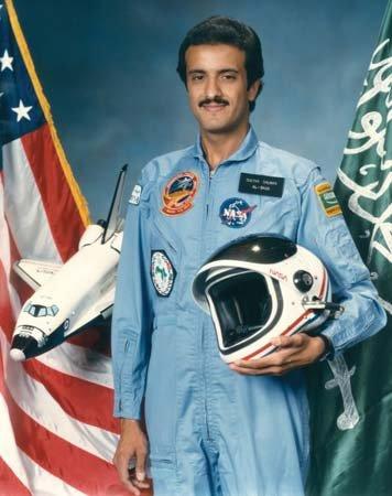 Sultan ibn Abd al-Aziz Saud (zdjęcie: NASA)