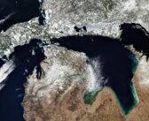 Wielkie amerykańskie jeziora z kosmosu