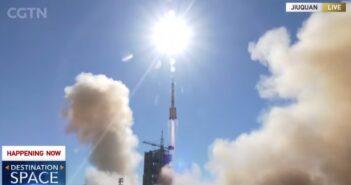 Początek misji Shenzhou-12 / Credits - CGTN