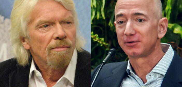 Richard Branson i Jeff Bezos / Credits - Chatham House i Seattle City Council